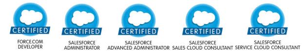 Salesforce Certifications