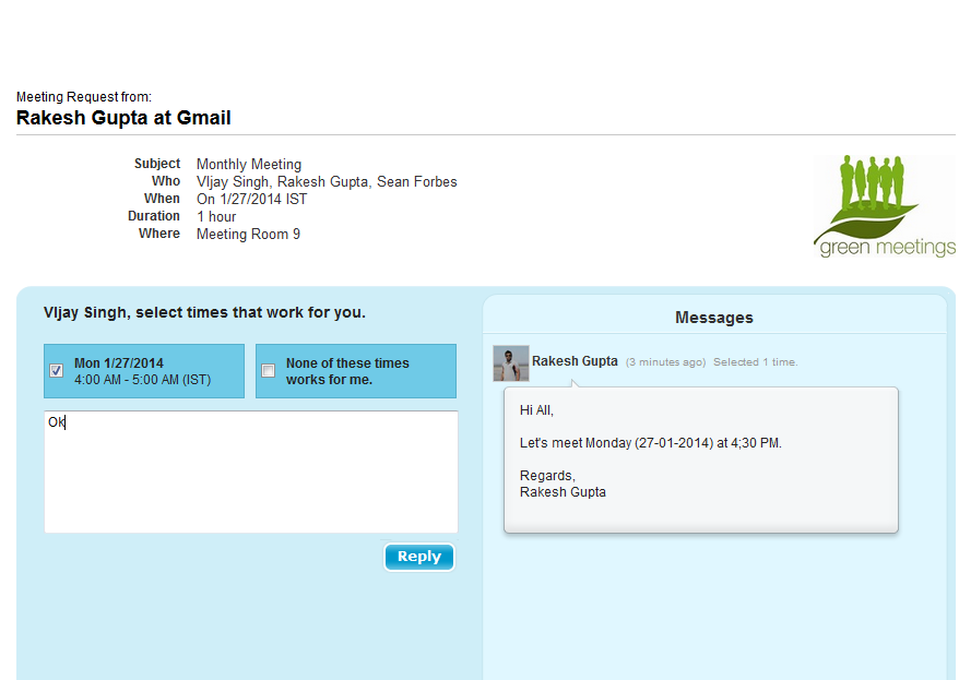 how to send meeting invitation outlook
