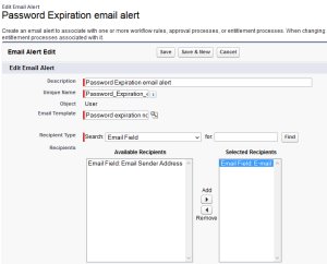 Time Dependent workflow - Email Alert