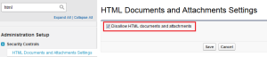 Disallow HTML documents and attachments