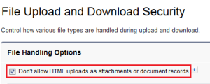 Enable File Upload and Download Security - Step 2