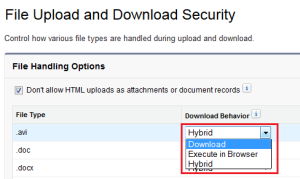 Enable File Upload and Download Security - Step 3