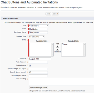 Create New Chat Buttons and Automated Invitations