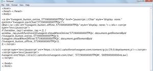 Sample HTML Code