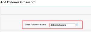 Step 2 - Enter new subscriber name