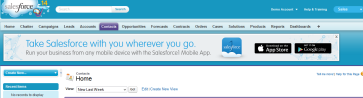 Salesforce Notification Banner