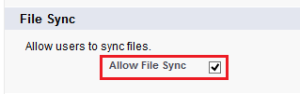 Enable Salesforce Files Sync in Your Organization