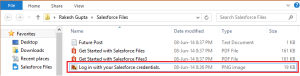 Share File From Salesforce File Desktop Client
