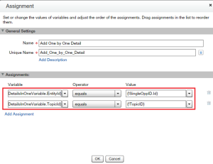 Add Details into Sobject variable