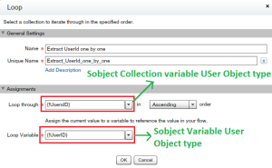 Loop to extract User ID one-by-one
