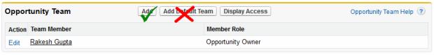 Opportunity Team