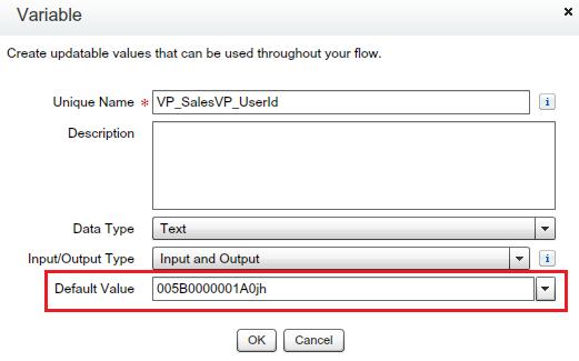 User ID of VP Sales
