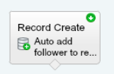 Add Chatter Followers to Record