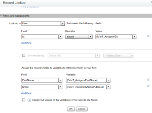 Get Assignor details