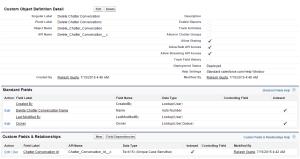 Custom Object - Delete Chatter Conversation
