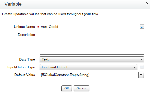 Text Variable