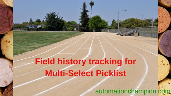 Field history tracking for Multi-Select Picklist