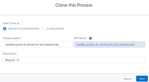 Clone a Process